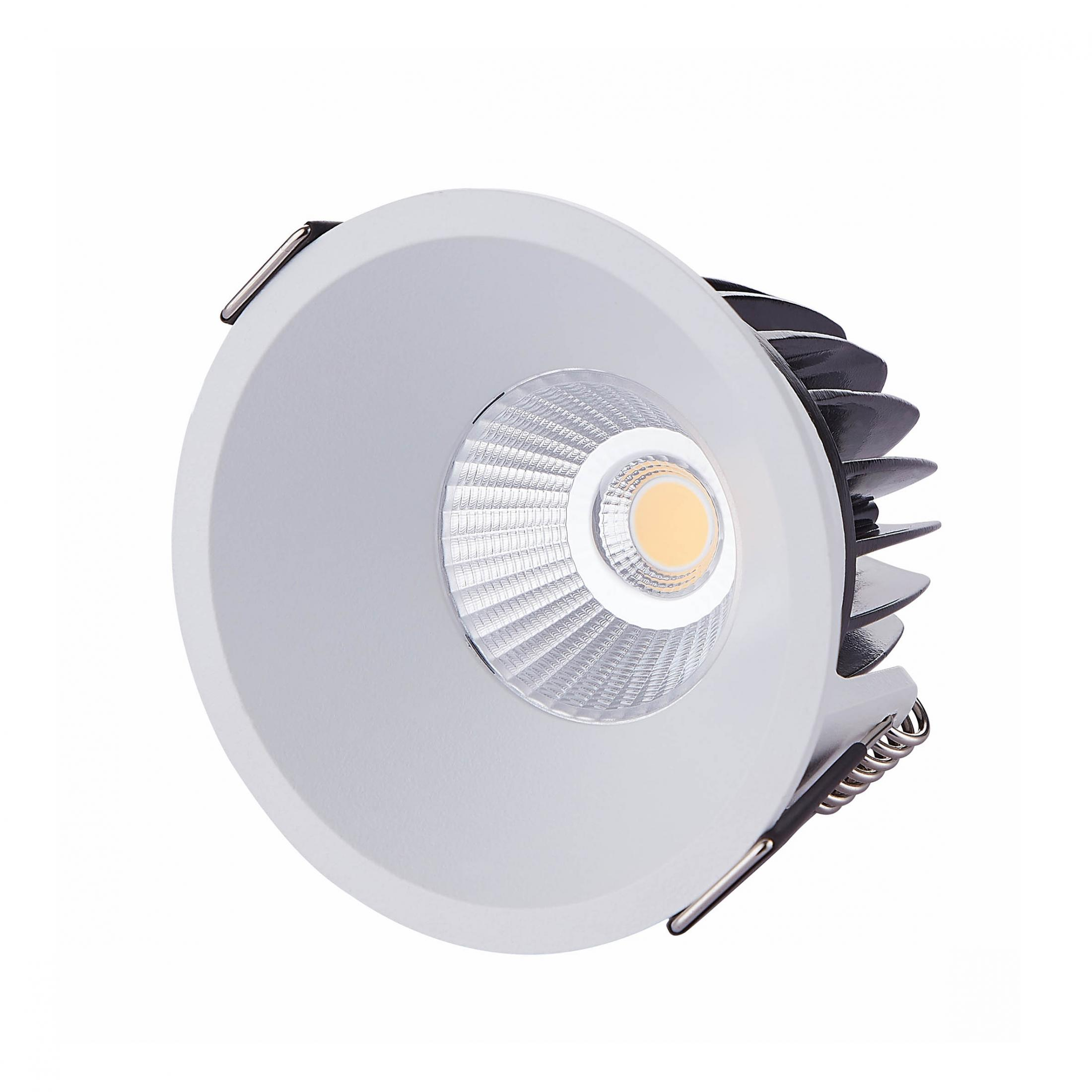 Waterproof Cutout 80mm LED 10W Recessed Downlights