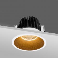 Cutout 80mm LED recessed downlights