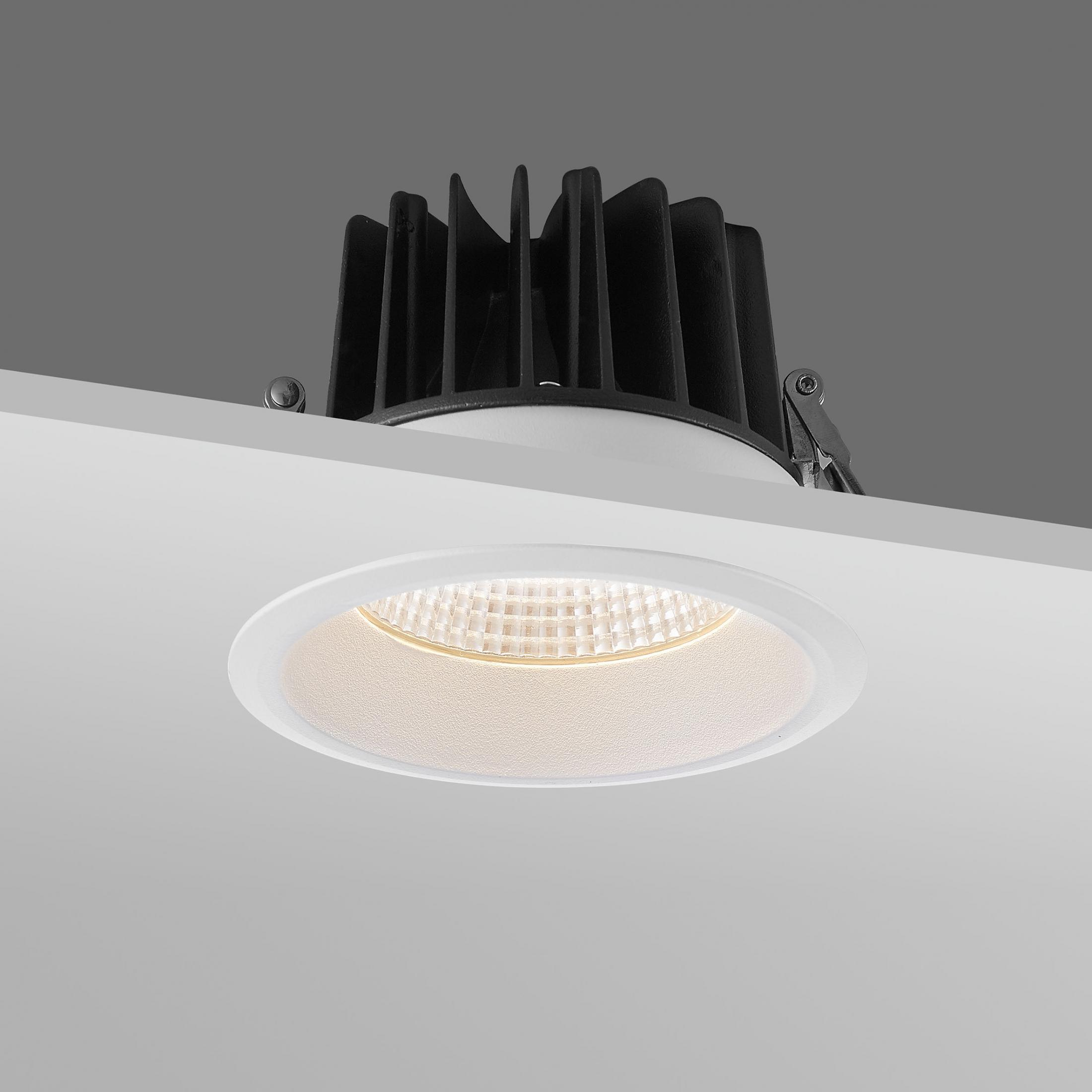 15w cob led recessed downlight
