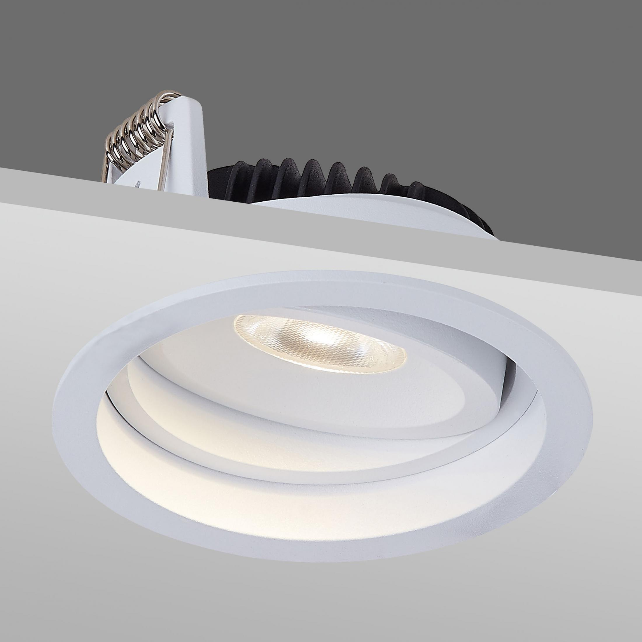 Adjustable Recessed COB LED Downlights
