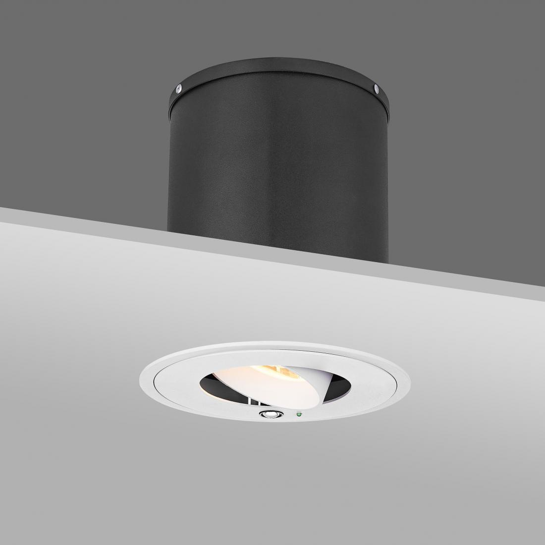 Remote Control Automatic Horizontal-Rotatable&Vertical-Tiltable&CCT-Changeable 30W LED Recessed Downlight
