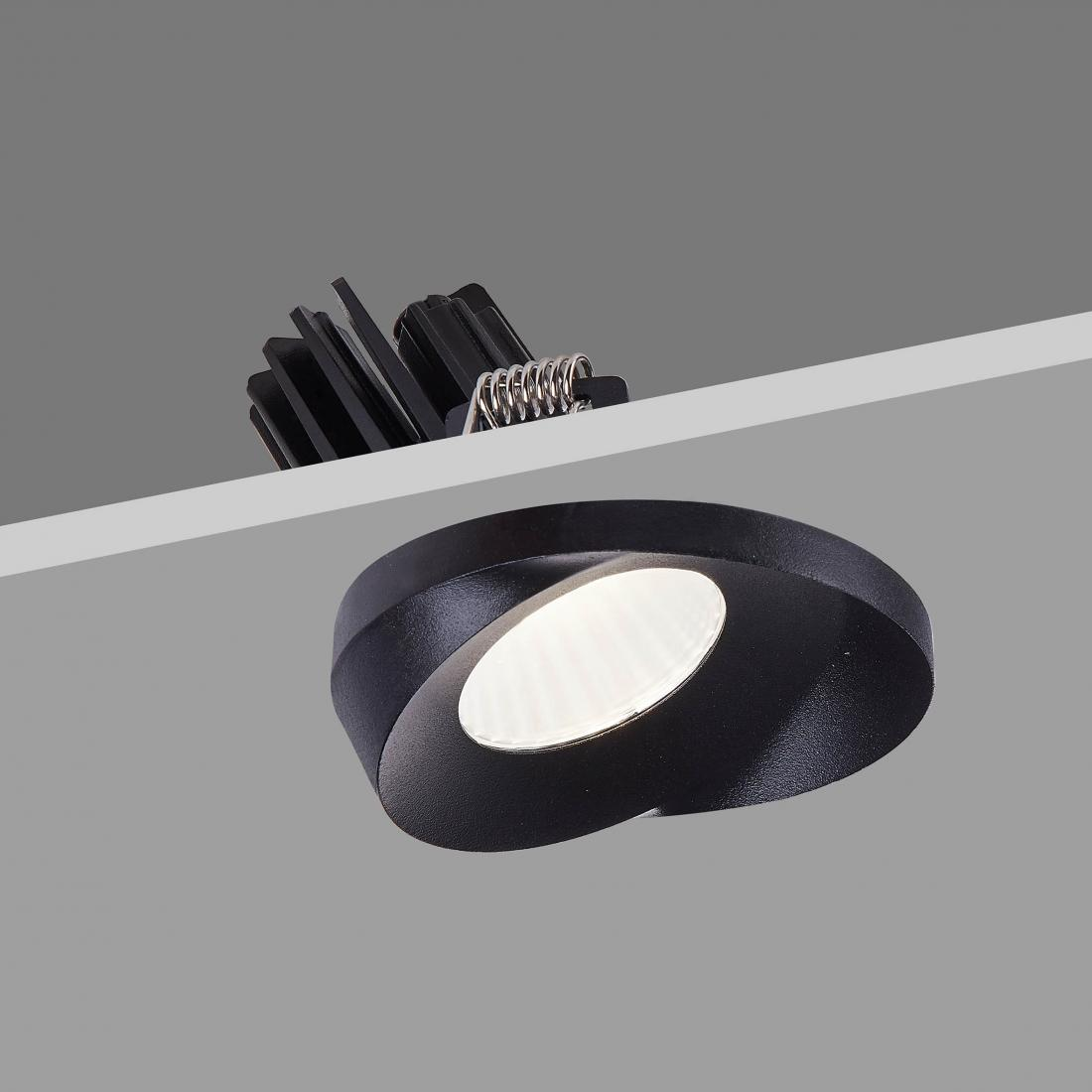 Black high CRI downlight