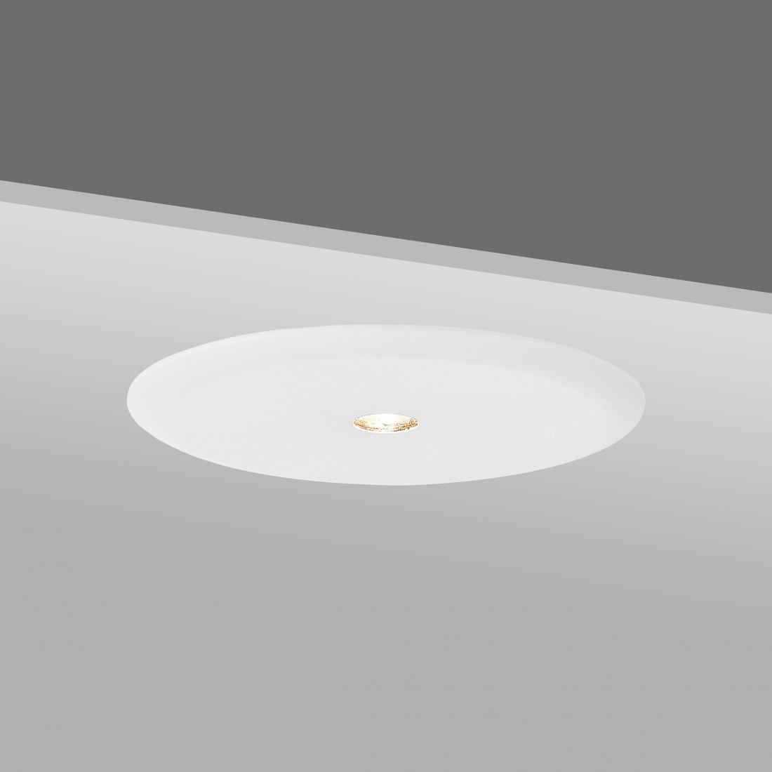 cabinet round recessed down Light