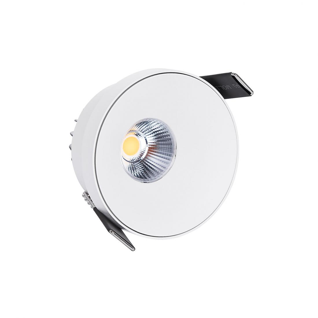 Commercial 3000k white color led round recessed downlight