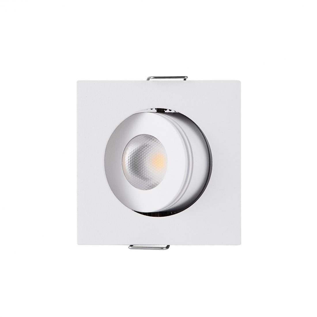 Commercial Square 3W COB LED Mini Bathroom Downlight
