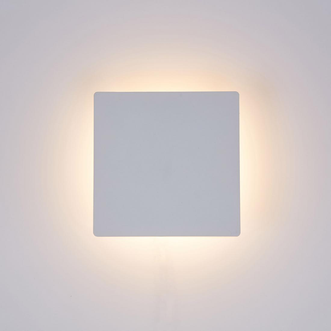 Indoor Square 10W Wall Lights