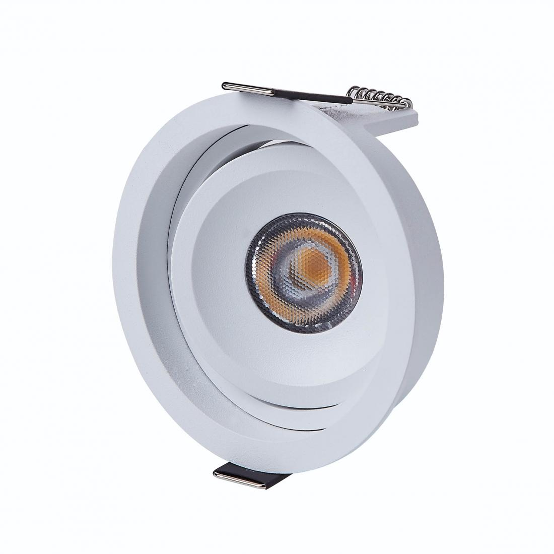 Nordic smart adjustable 7watt led cob spot downlight with different height
