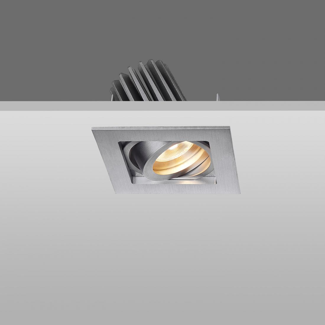 square trim 7w spot light downlight