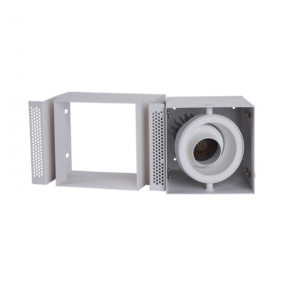 10W grille adjustable LED recessed downlight