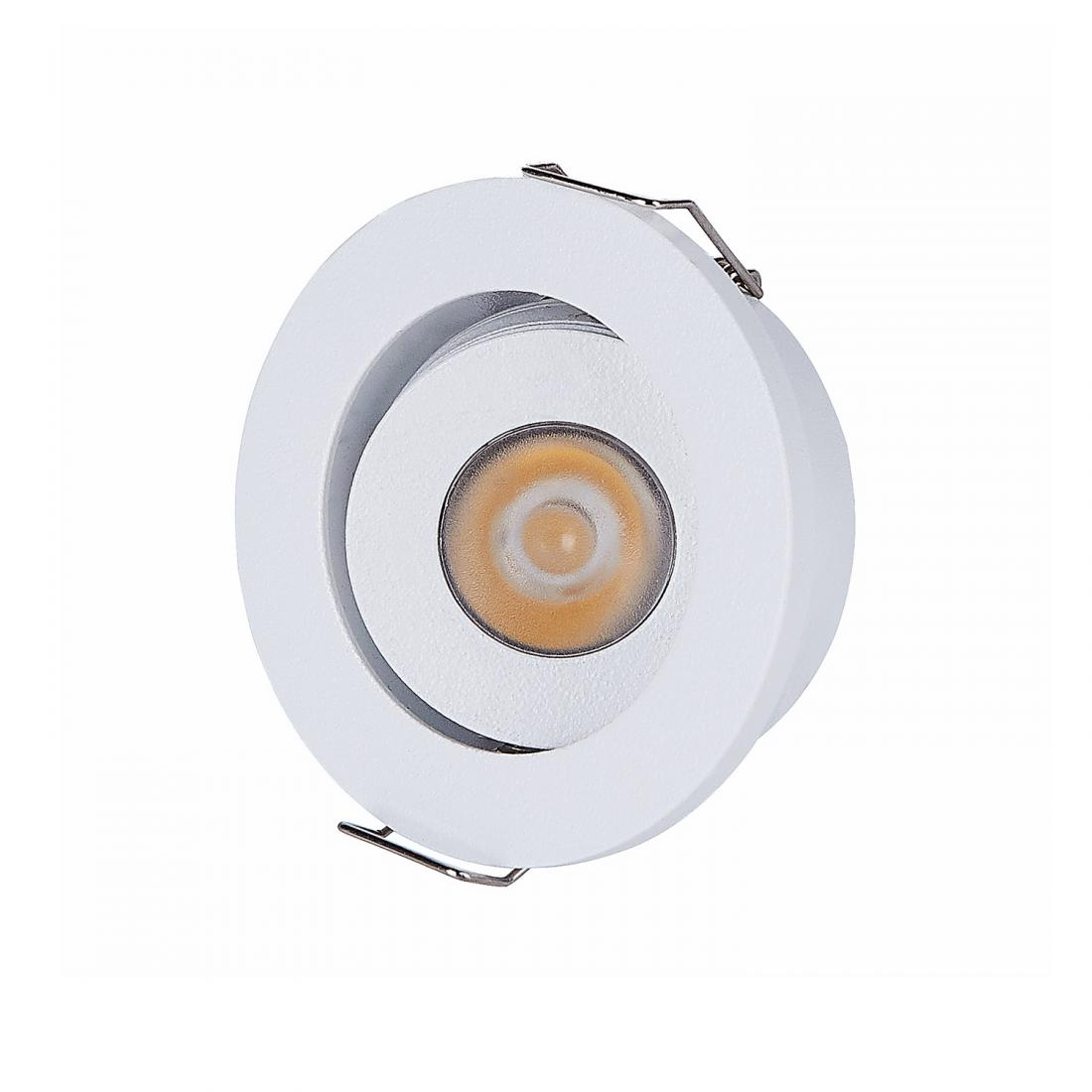 3W cabinet adjustable LED recessed spot light