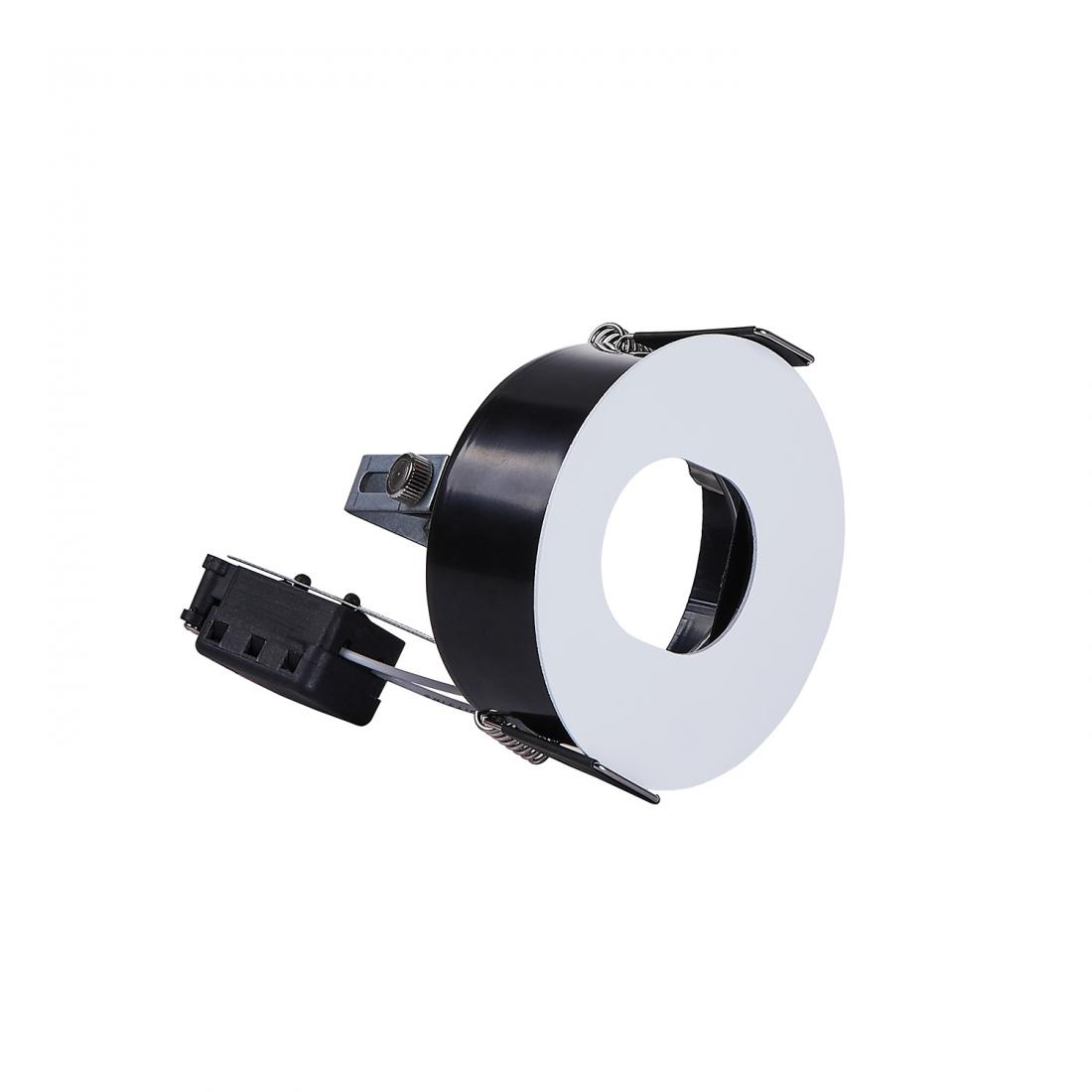 Pin-slot recessed MR16 downlight