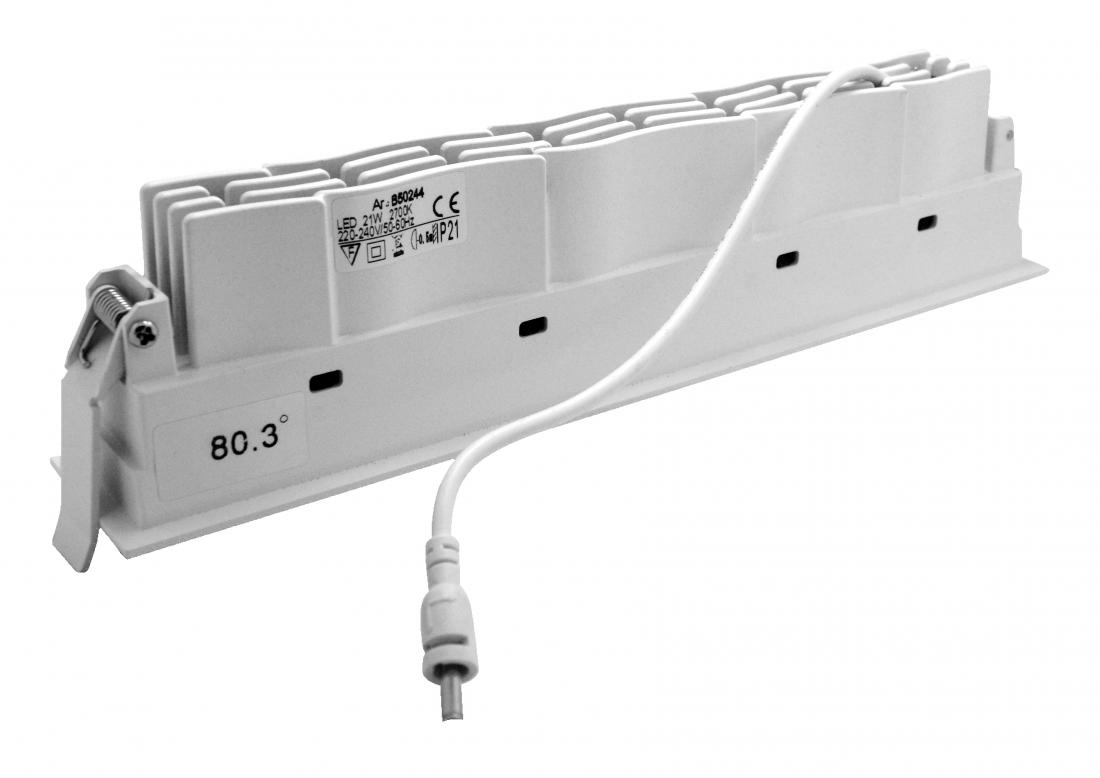 Recessed 21W LED Linear Wallwasher Downlight