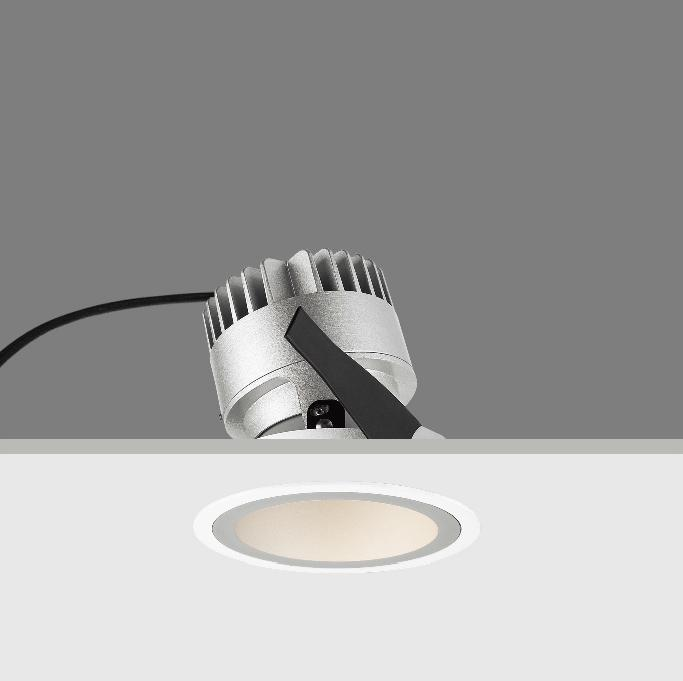 10W adjustable LED BAW recessed down light