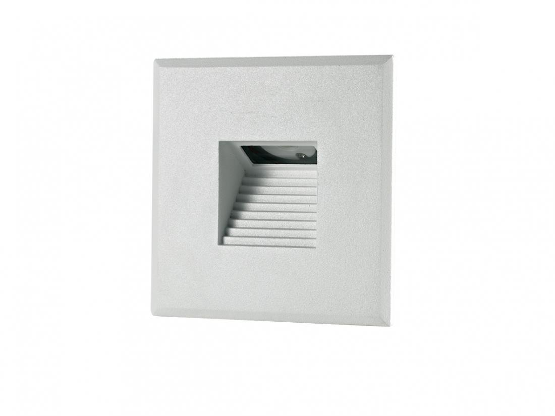 IP20 CREE LED 3W Square Wall Recessed Step Lamp