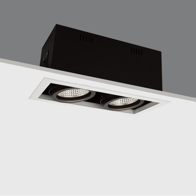 deep recessed commercial downlight