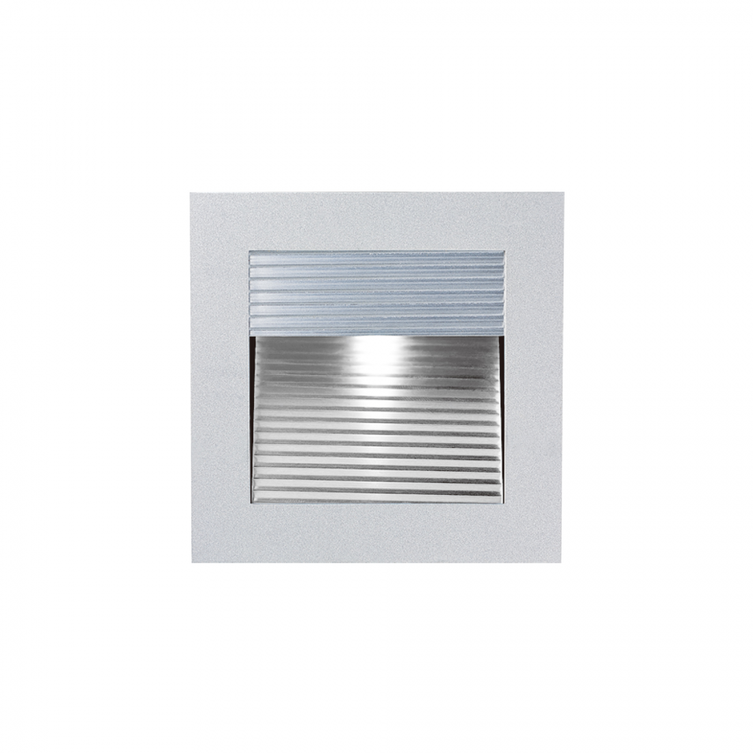3W Edison LED 90mm Square Recessed Indoor Stair Light