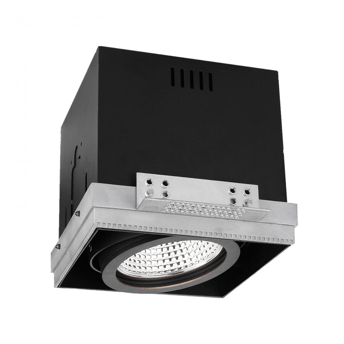 Grille recessed led downlight