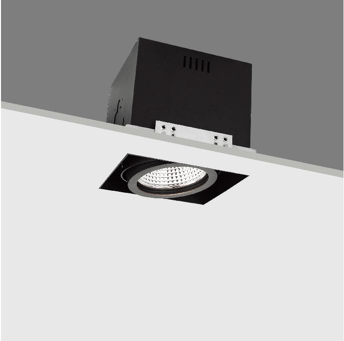20W Trimeless LED Grille Spot Recessed Downlight