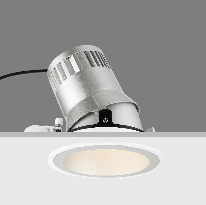 15W adjustable LED BAW recessed down light