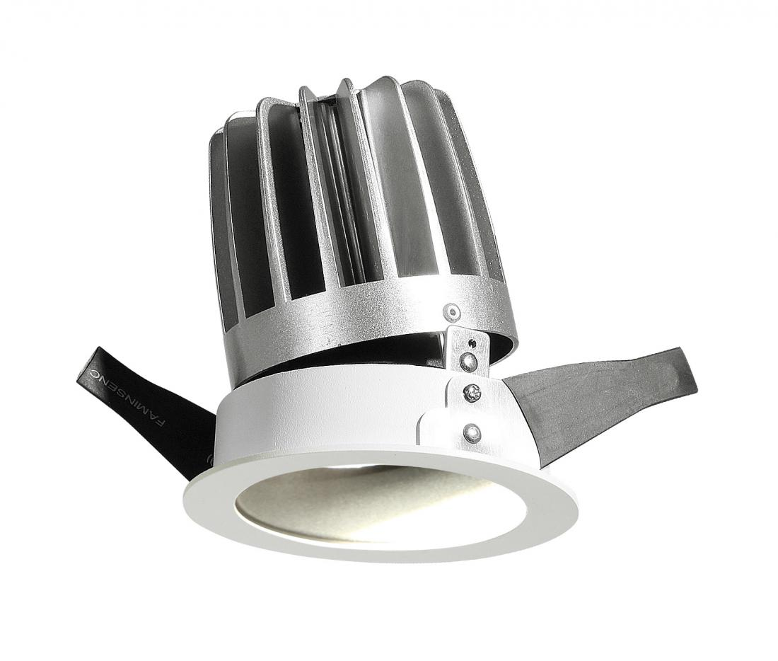 Adjustable die-casting Dimmable 15w Round Trim led Downlight