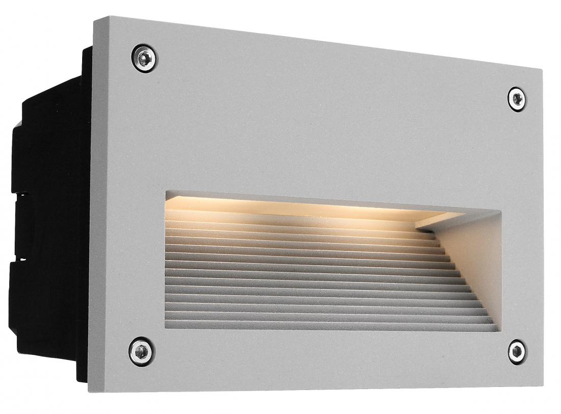 outdoor led recessed step light