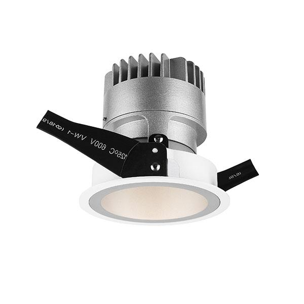Modern Indoor IP20 Fixed 7W Recessed LED Downlight