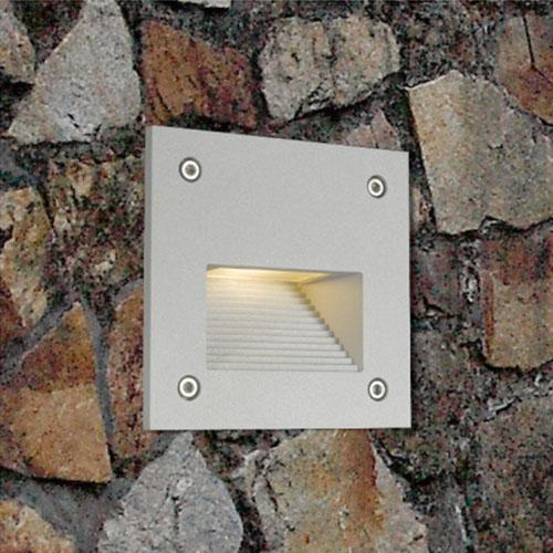 Outdoor IP65 3W Wall Recessed LED Stair Lights